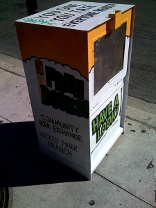 The Logan Square Community Book Exchange in Chicago, IL.