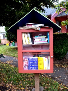 The Share-It Square Lending Library in Portland, OR.