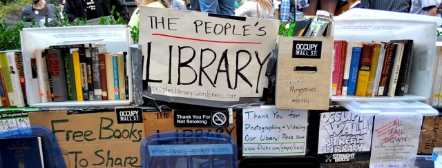 The People's Library at Occupy Wall Street